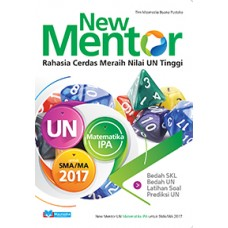 New Mentor UN Matematika Program IPA SMA/MA 2017